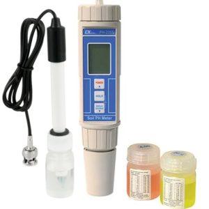 Phmetro portatile con soluzioni e elettrodo