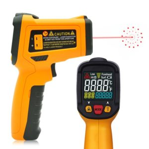 Termometro laser con attacco tipo K